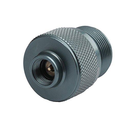 Propan-gas-kanister (MAyouth Camping Gaskocher Adapter Ventil Kanister auf 1L grün Propan Tank/Welding Torch MAPP Gas Dosen)