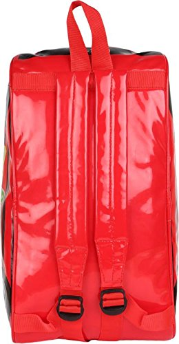SHOPATHON INDIA Car Shape Playgroup Activity Picnic KG School Nylon Backpack for Youngsters(Crimson) Image 5