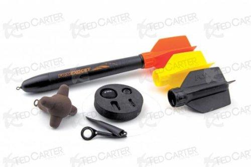 Fox Exocet Marker Float Kit 3oz Markerpose Lotpose Lotbleie, Angelset zum Ausloten und Futterplatz markieren, Karpfenangeln