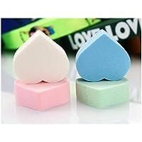 GOOTUOUOU Make-up-Schwamm 4Pcs Liebes-Muster-kosmetischer Puderquaste-Make-upschwamm für waschendes Gesicht preisvergleich bei billige-tabletten.eu