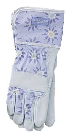 Laura Ashley 3A100981 Cool Rigger Garden Glove, Roundswood Pale Lavender, Large