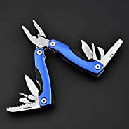 16 In 1 Multitool Pliers, Folding Multifunctional Tools with Outdoor Camping Survival Knife, Wire Cutter Screw