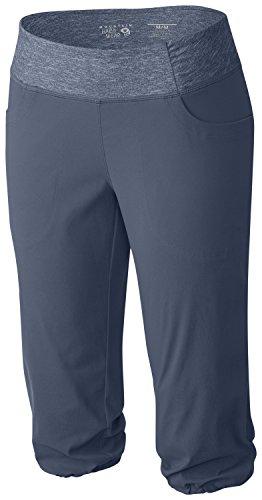 Mountain Hardwear Dynama Pantalon Femme gris - Bleu foncé