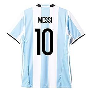 Adidas Argentinien Fussball Trikot Home 2017 2016 Herren Lionel Messi Größe S