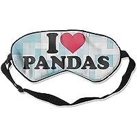 I Love Pandas 99% Eyeshade Blinders Sleeping Eye Patch Eye Mask Blindfold For Travel Insomnia Meditation preisvergleich bei billige-tabletten.eu