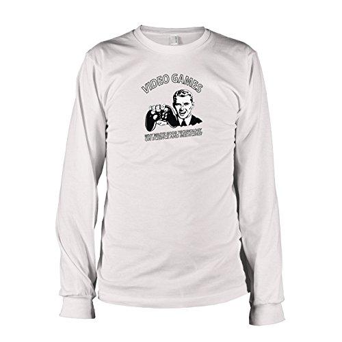 TEXLAB - Good Technology - Langarm T-Shirt Weiß