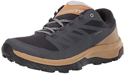 Salomon Outline GTX - Zapatillas de Senderismo para Hombre - 406792, 9 M US, Ebony/Bistre/Pearl Blue...