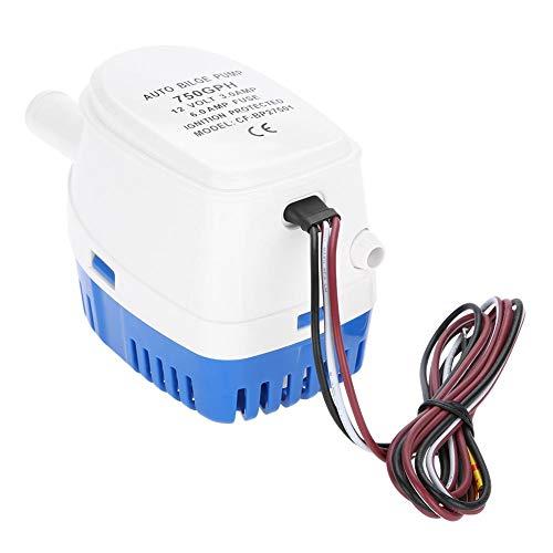 Tauchpumpe,12 V Marine automatisch Tauchpumpe Bilgenpumpe Elektrische Pumpen Mit Schwimmerschalter
