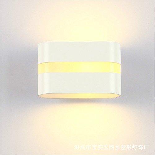 BOOTU Bougeoir LED et descendre appliques Galerie photos Chambres lampe murale à led, 10 W, 160 * 90 * 55mm, lumière blanche chaude