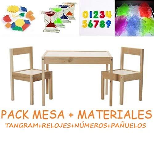 Pack mesa luz Montessori RGBW 64x48cm +