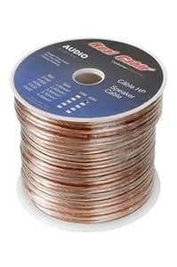 Real Cable P160T/30M Câble Haut parleur 30 m Transparent