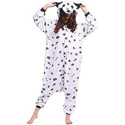 Dalmata pijama con capucha.