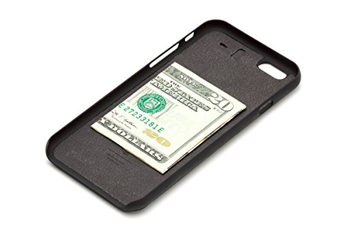 Portefeuille en cuir Bellroy iPhone 6s Phone Case- 3 cartes Tamarillo Black