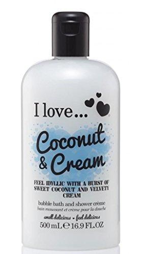 Coconut Bath (I Love... Coconut & Cream Bubble Bath And Shower Creme 500ml)