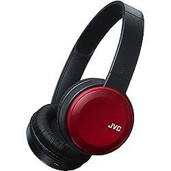 JVC HAS30BTRE - Auriculares de Diadema Abiertos (Plegables, tecnología Bluetooth) Rojo