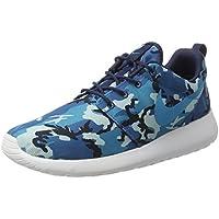 newest 47dea f356d Nike Roshe Run Stampa, Uomo Scarpe Da Corsa - blu scuro laguna scuro  elettrico blu