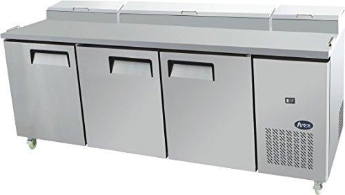 Atosa MPF 8203Triple Tür Essen Prep Tisch Kühlschrank (Prep Tisch Kühlschrank)