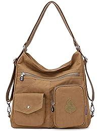 fa4b8727e Outreo Mujer Bolsos de Moda Impermeable Mochilas Bolsas de Viaje Bolso  Bandolera Sport Messenger Bag Bolsos