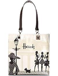 a7de050dc9 harrods Small Knightsbridge Shopping Shopper Bag - Borsa a mano in PVC con  fodera in poliamide