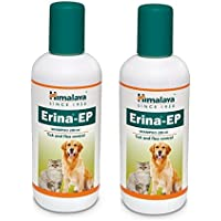 Pawsitively Pet Care Himalaya Erina EP Tick and Flea Shampoo for Dogs/Cats (200 ml) - Pack of 2