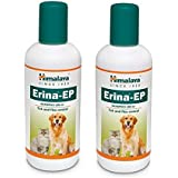 Himalaya Erina EP Tick & Flea Shampoo For Dogs & Cats - 200 Ml (Pact Of 2)