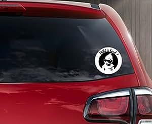 Sticker autocollant bébé à bord Swag rond