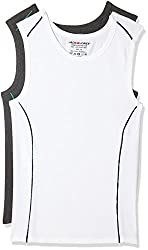 Jack & Jones Mens Cotton Vest (Pack of 2) (5713728992735_12134960_X-Large_White)