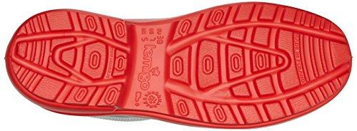 Lemigo Bottes de Pluie EVA Thermo 800-2017 Rouge88/Gris