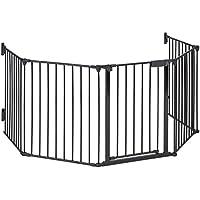 oneConcept Safety-First Rejilla para chimenea (cerca de protección pasillo o escaleras, puerta