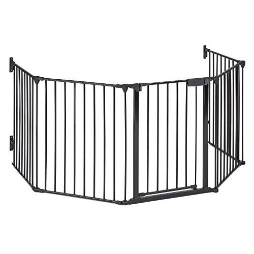 oneConcept Safety-First Rejilla para chimenea (cerca de protección pasillo o escaleras, puerta...