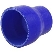 Azul recto de silicona Ruducer 50-70mm manguera