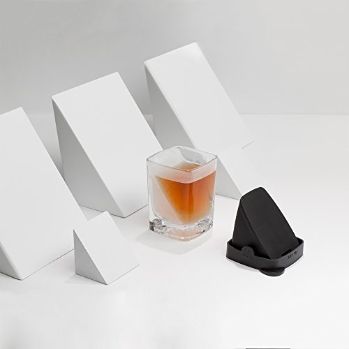Das Whiskey Wedge Whiskyglas mit innovativer Eisform - 2