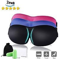 SUXNOS 3D Schlafmaske (Neues Design) Augen Maske zum Schlafen Bequeme Naturseide Stoff Verstellbare Strap und... preisvergleich bei billige-tabletten.eu