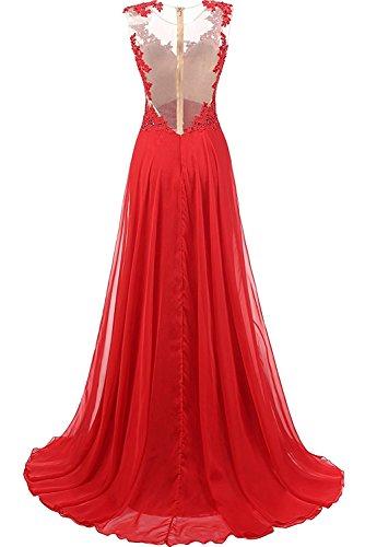 TOSKANA BRAUT Royalblau 2017 Spitze Damenkleider Lang Abendkleider Neu Chiffon Partykleider Ballkleider Mutterkleider Blau