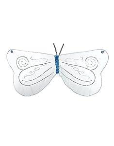 DREAMY DRESS-UPS 50556Aqua alas de Hada con Sparkles Disfraz (Talla única)