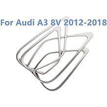 HIGH FLYING Stainless steel Interior Side Door Speaker Frame Cover trim 4pcs For Car Accessory ADA3