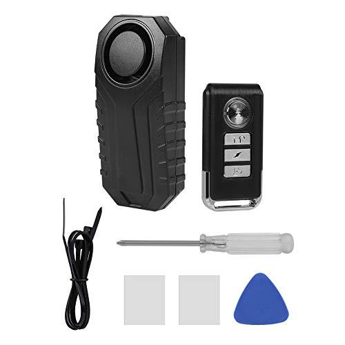 Sonew Alarme à télécommande sans Fil, Alarme de Vibration de Bicyclette/Tricycle électrique/Porte / fenêtre/Alarme Intelligente d'antivol avec IP 55 imperméable