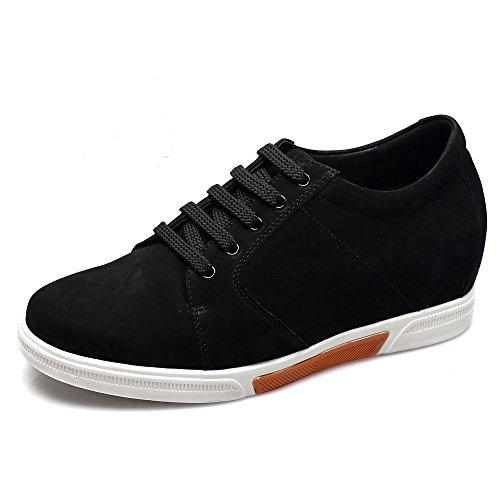 CHAMARIPA Zapatillas deportivas para de cuero hommre - 7,5 cm más alto - K70M83-1