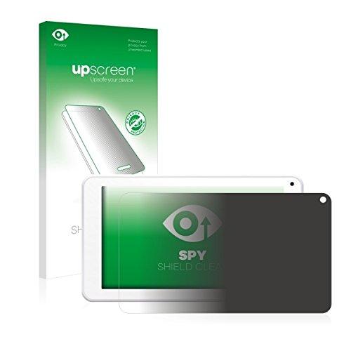 upscreen Spy Shield Clear Blickschutzfolie / Privacy für BigBen Unity Tab 7 (Sichtschutz ab 30°, Kratzschutz, selbstklebend)