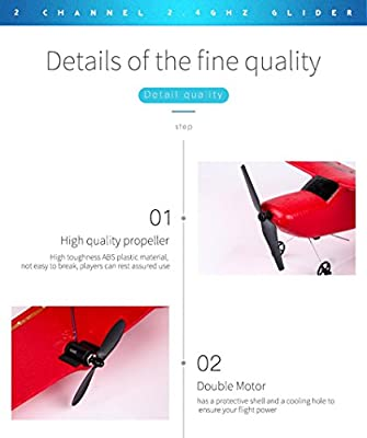 Turkey RC Gliders Ready To Fly, Z50 2.4G 2CH Gyro RTF Remote Control Glider 350mm Wingspan Epp Fixed Wing Plane Micro RC Airplane Aircraft Indoor or Outdoor Toys Gifts