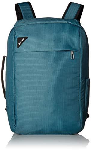 Pacsafe Vibe 28L Anti-Theft Backpack Rucksack, Handgepäck mit Sicherheitstechnologie 28 Liter, Türkis/Hydro -