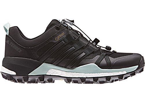 Scarpe Da Trail Running Donna Adidas Terrex Skychaser Gore-tex - Ss18 Turchese Nero