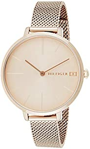 Tommy Hilfiger Women's Quartz Watch, Analog Display and Stainless Steel Strap 178