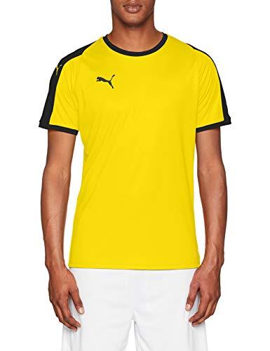 Puma liga jersey, maglietta uomo, giallo (cyber yellow black), l