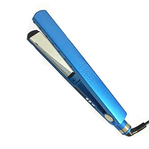 XIAONUA Pequeño alisador de Pelo - Nano Recubierto de Titanio Planchas del Pelo, planchas de peluquería versátiles, para Todos los Tipos y Longitudes de Cabello,Blue