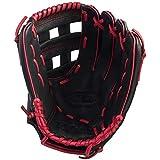 Gant de baseball Wilson A360 30,5 cm pour lanceur à main droit (gauche) - noir / rouge