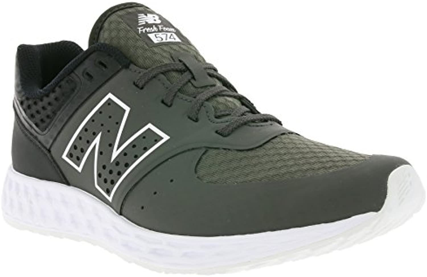 New Balance Hombre 574 T3 Breathe Story Formadores, Gris