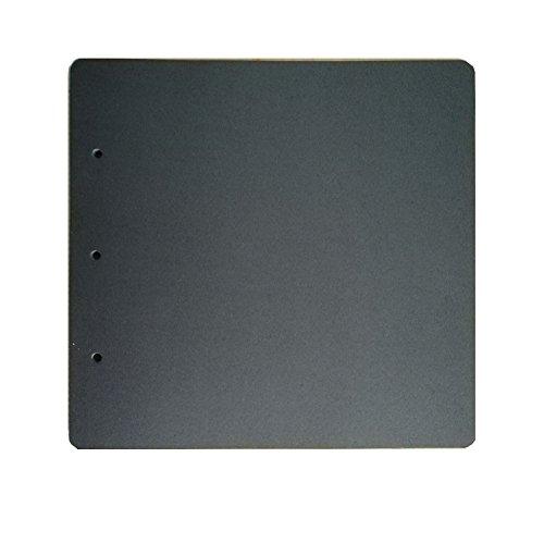 guwheat Scrapbook Refill schwarz Seiten für Album, 20 Blatt (26 x 25,5 cm) -