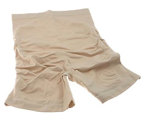 THERMOFORM© FRM 0100 Miederhose Schlank machende Seamless Panty Tailenhoch in verschiedenen Größen S-XXXL (L,
