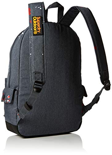 Superdry Outdoormontana, Sacs à dos homme, Multicolore (Dark Grey Marl), 30x45x15 cm (W x H L)